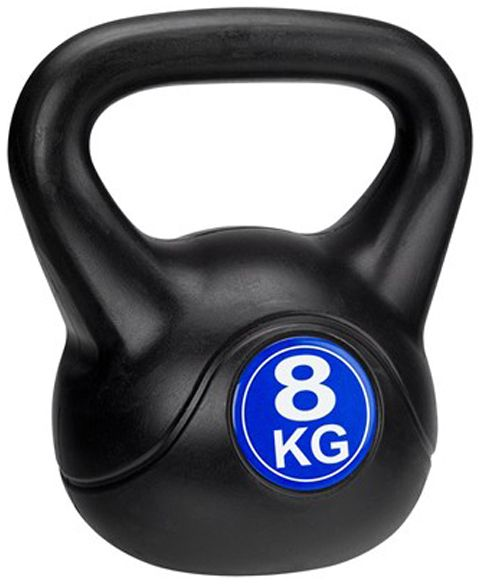 Avento Kettlebell 8 kg czarno-niebieski (41KC) 41KC hanteles