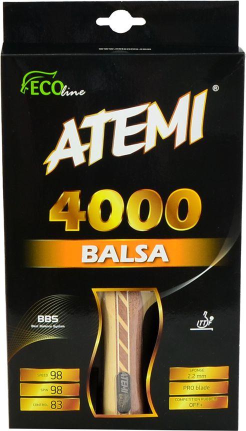 Atemi 4000 Balsa Concave Rakietka Do Tenisa Stolowego (17204) 17204