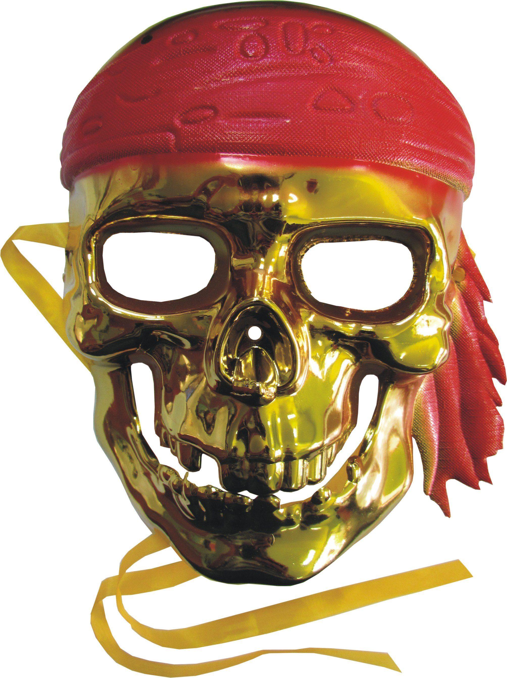 Arpex Maska czaszka pirata ARPE1517