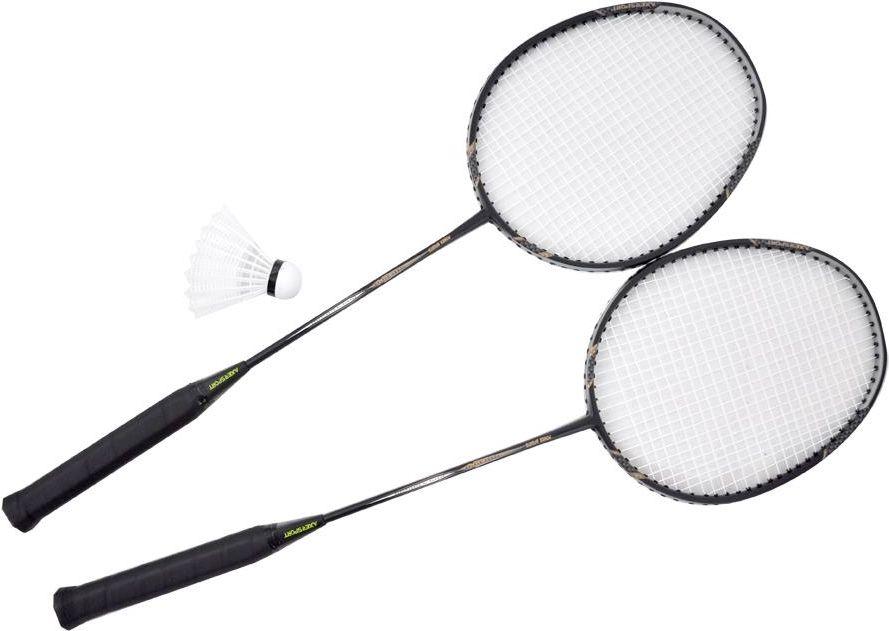 Axer Zestaw do badmintona czarny (A1987) A1987 badmintona rakete
