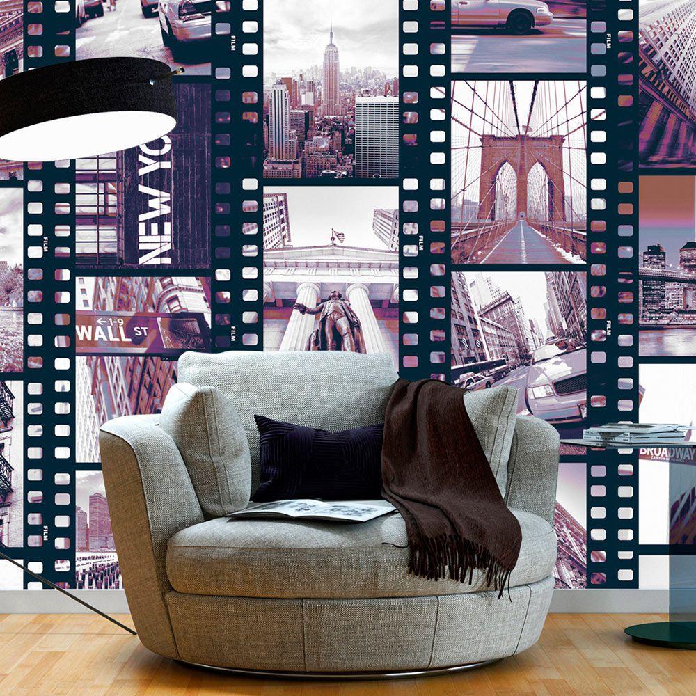 Artgeist Fototapeta - NY - Miejski kolaz 50x1000 BP-WSR10m758