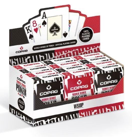 CARTAMUNDI Poker cards The world series of poker games galda spēle