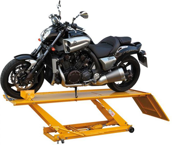 AIRPRESS Podnosnik motocyklowy hydrauliczny 453kg (73200) 73200