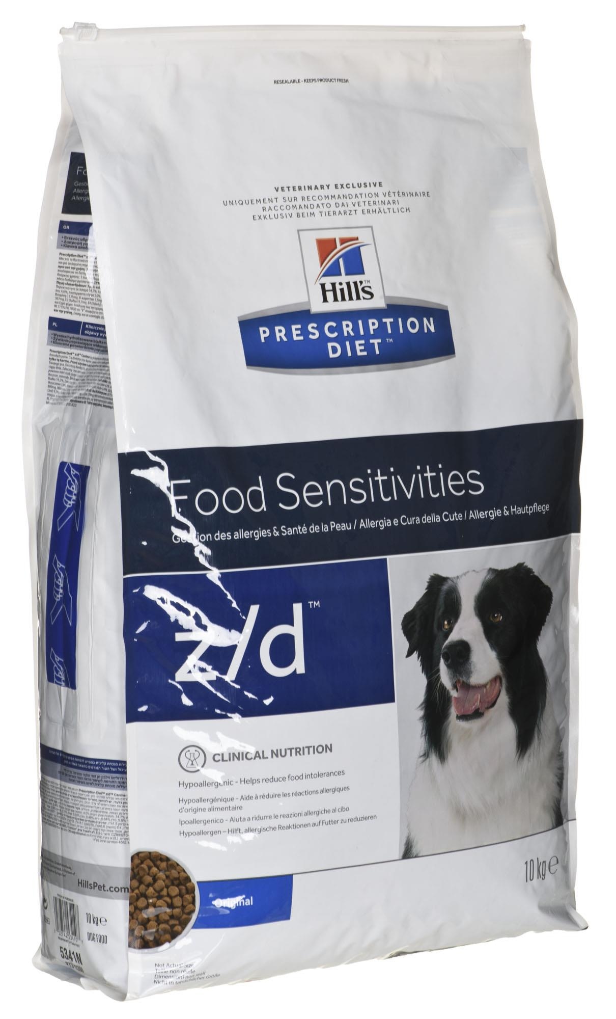 Hills Prescription Diet z / d Canine 10kg barība suņiem