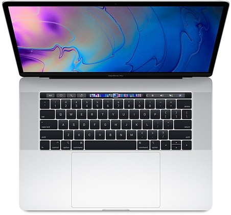 MacBook Pro 15 Touch Bar, i7 2.6GHz 6-core/16GB/512GB SSD/Radeon Pro 560X 4GB - Silver Portatīvais dators
