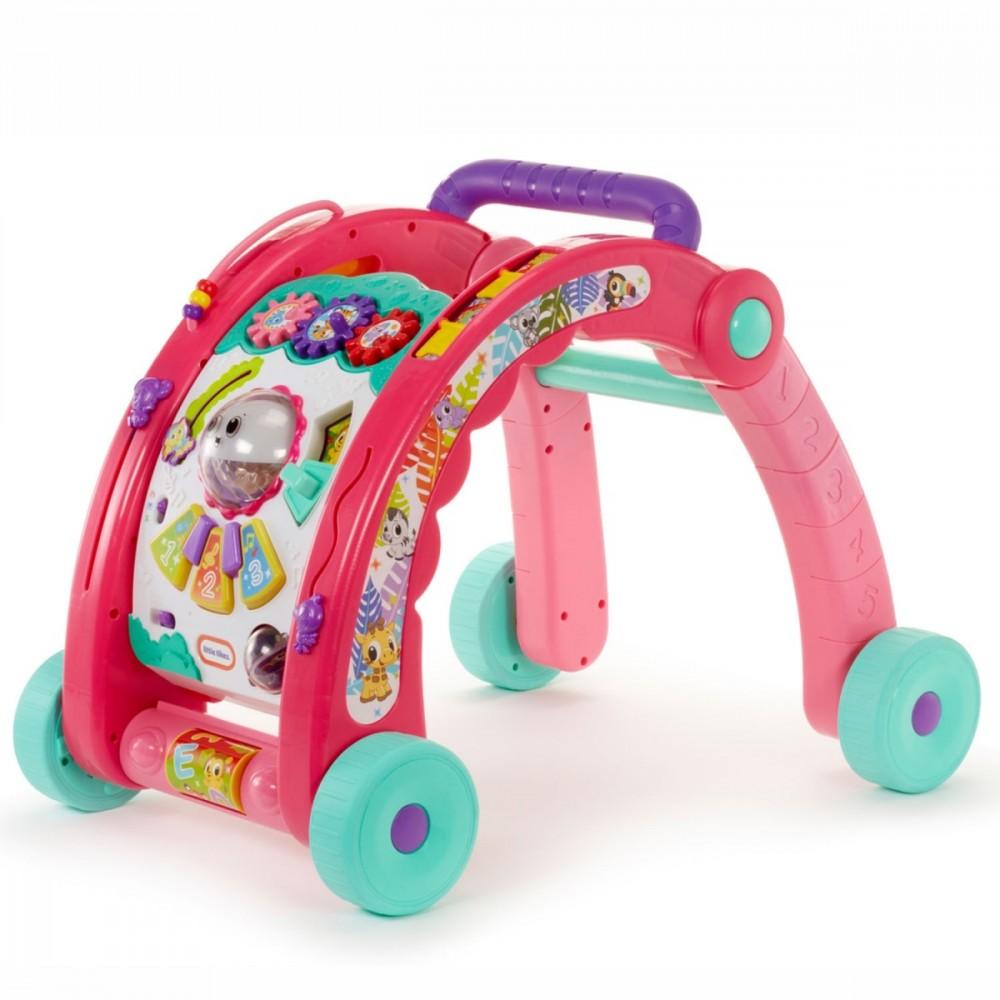 LITTLE TIKES Activity Walker 3in1 Pink PL pink aksesuāri bērniem