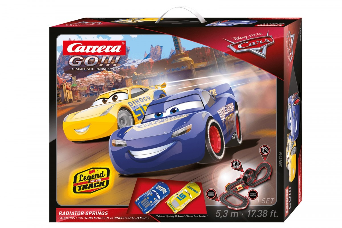 Carrera GO!!! Racetrack Disney/Pixar Cars 3 - Radiator Springs