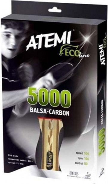 Atemi 5000 Balsa Carbon Anatomical Rakietka Do Tenisa Stolowego (17148) 17148