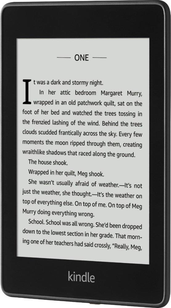 Kindle Paperwhite 2018 Waterproof, 6'' HD E-ink, 8GB, WiFi sponsored; black Elektroniskais grāmatu lasītājs
