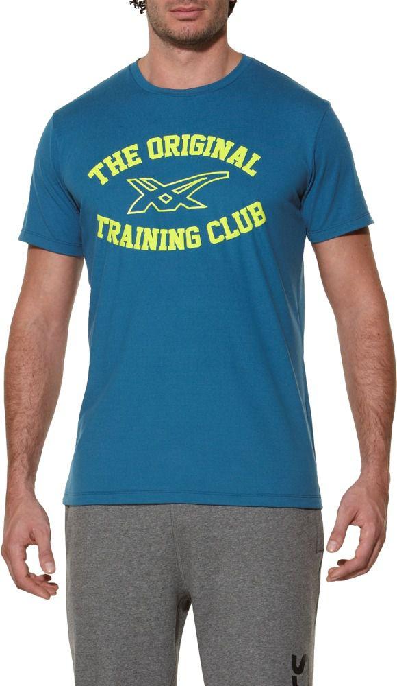 Asics Koszulka meska Sanded Top niebieska r. XL (1250758123) 1250758123