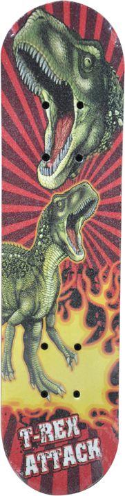 Deskorolka Axer dla dzieci 24' T-Rex attack 61X15 cm czerwona (A26670 A26670