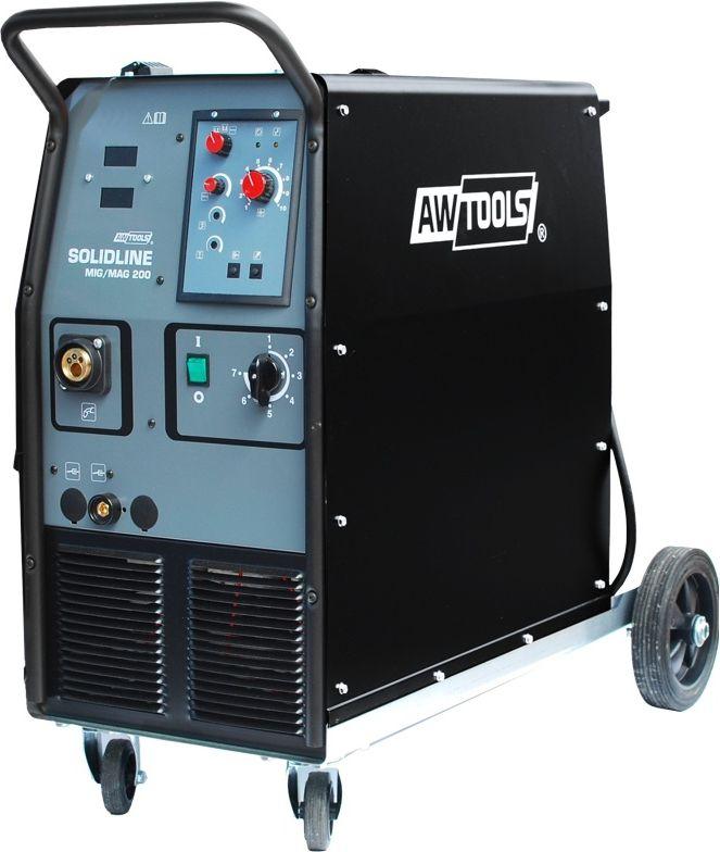 AWTOOLS Polautomat spawalniczy SolidLine MIG MAG 4-rolkowy (AW50026) AW50026