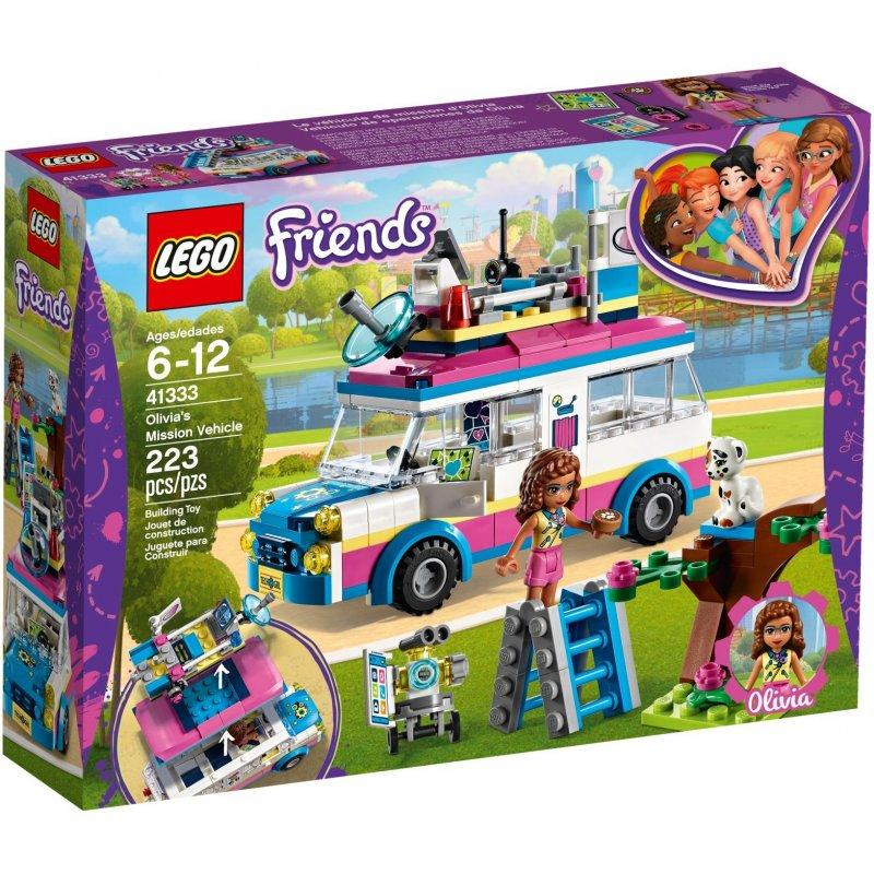 LEGO Friends 41333 Olivia's Mission Vehicle LEGO konstruktors