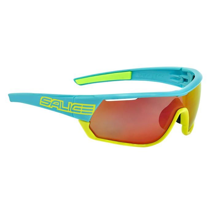 WHITE-ORANGE MIRROR HYDRO RED 016RW saulesbrilles
