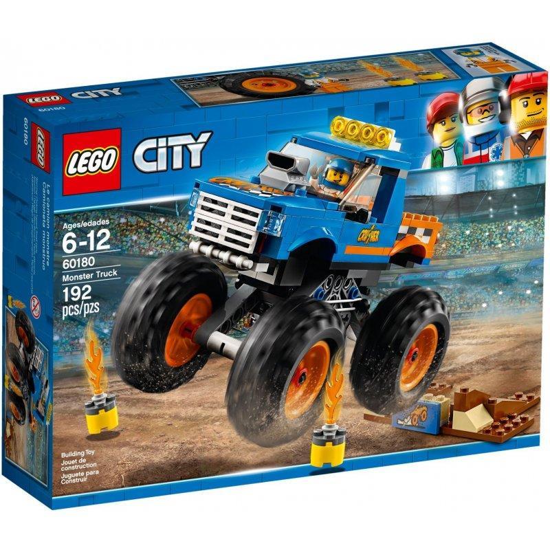 LEGO City 60180 Monster Truck LEGO konstruktors
