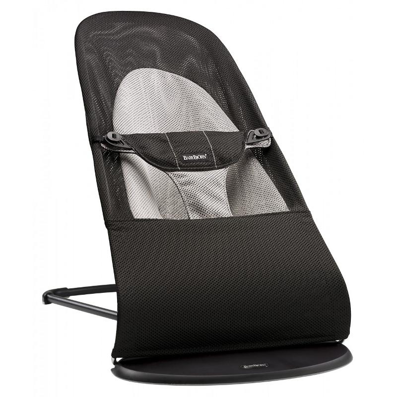 Bouncer Balance Soft Black/Grey,Mesh 005028A šūpuļkrēsls