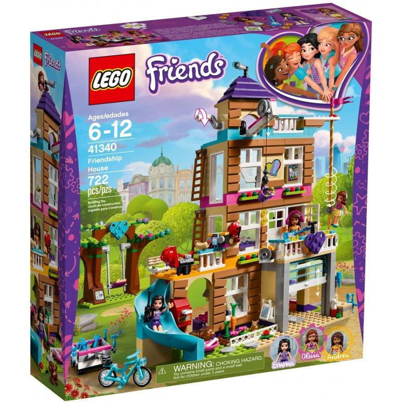 LEGO Friends 41340 Friendship House LEGO konstruktors