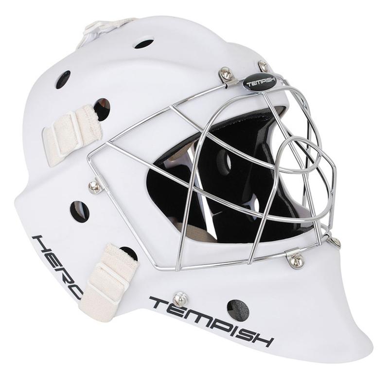 Hero goalie mask Senior white 135002004 Slidošanas un hokeja piederumi