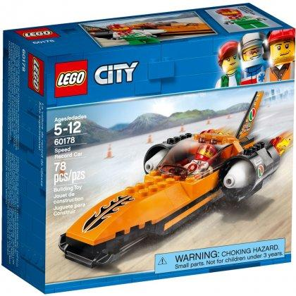 LEGO City Great Vehicle - Speed Record Car - 60178 LEGO konstruktors