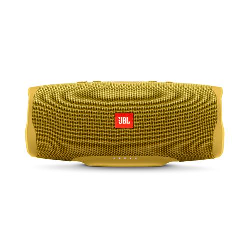 JBL ūdensizturīga portatīvā skanda, dzeltena JBLCHARGE4YEL pārnēsājamais skaļrunis