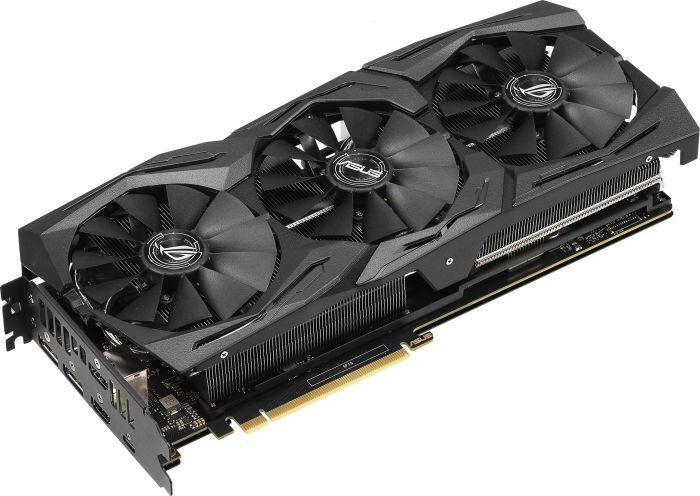 ASUS GeForce RTX 2070 ROG STRIX OC GAMING - 8GB - HDMI DP USB-C video karte