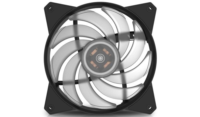 CM MasterFan MF120R RGB LED Fan aksesuārs datorkorpusiem