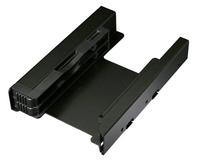 Einbaurahmen IcyDock  2x6,3cm IDE/SATA/SAS in 3,5 HDD/SSD cietā diska korpuss