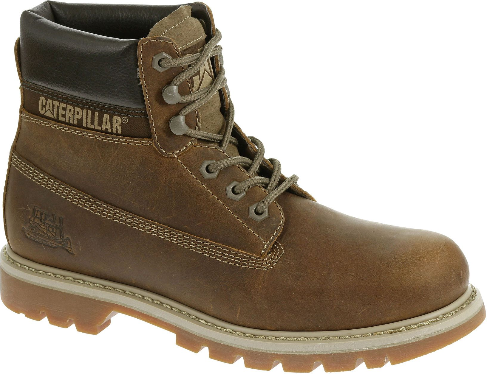 Caterpillar Men's Shoes Colorado Dark Beige. 43 (P708190)