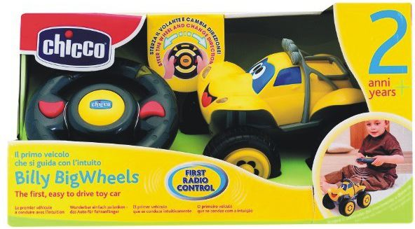 Chicco Car Billy yellow 617590 Radiovadāmā rotaļlieta