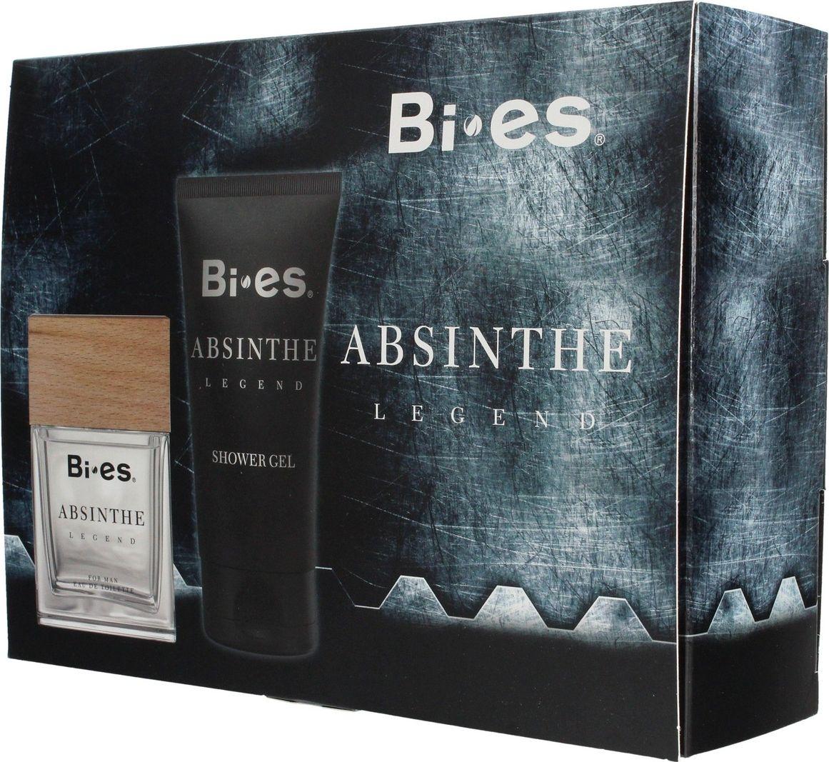Bi-es Absinthe set Legend for Man EDT 100ml set + shower gel 150ml Vīriešu Smaržas