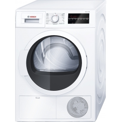 Bosch WTG864L7SN Dryer Machine/7KG/B/65dB/LED Display/SensitiveDry/AutoDry/EasyClean filter/AntiVibration Design/White Bosch Veļas žāvētājs