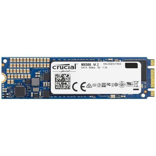 Crucial MX500 M.2 SSD, SATA 6G - 250 GB SSD disks