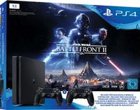 Sony Playstation 4 Slim 1TB incl. Star Wars Battlefront 2 spēļu konsole