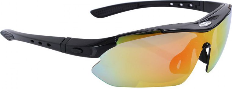 TEMPISH Sport glasses Contra black universal (1020010741-BLK)