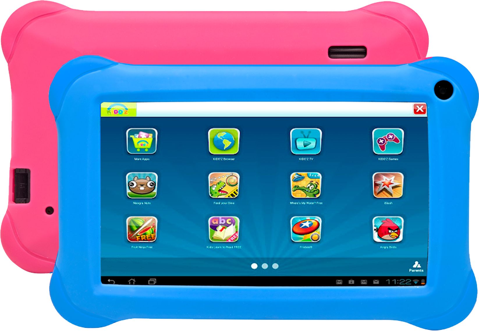 Denver TAQ-70354K 7/16GB/1GB/WI-FI/ANDROID6/BLUE PINK 5706751041136 Planšetdators