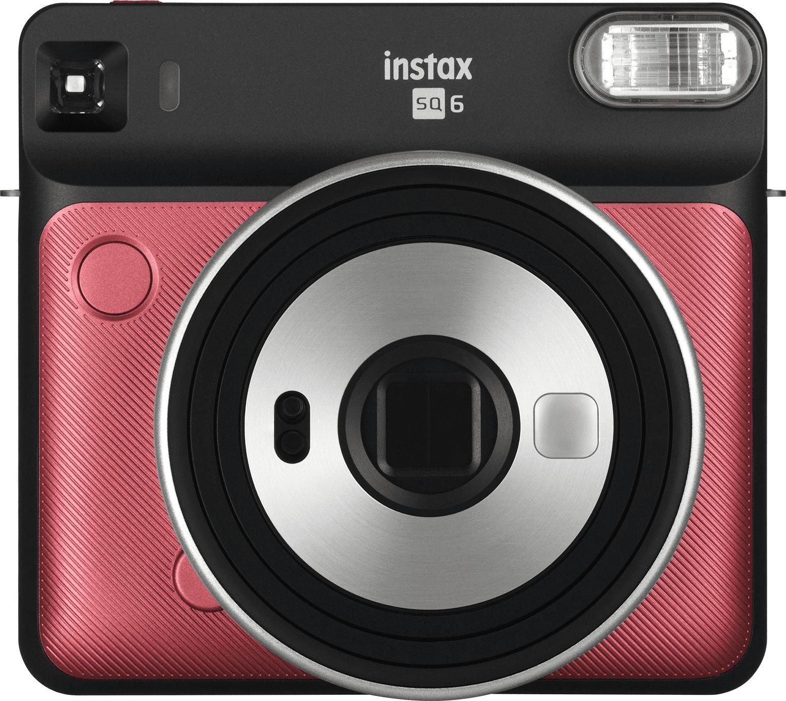 Aparat cyfrowy Fujifilm Instax Square 6 Czerwony 16608684 Digitālā kamera