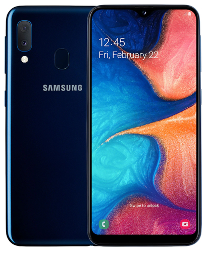 Samsung Galaxy A20e 3GB/32GB Blue Mobilais Telefons
