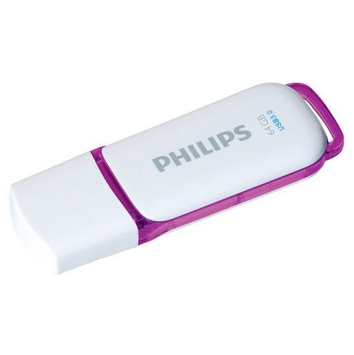 Philips USB 3.0 Flash Drive Snow Edition (violeta) 64GB USB Flash atmiņa