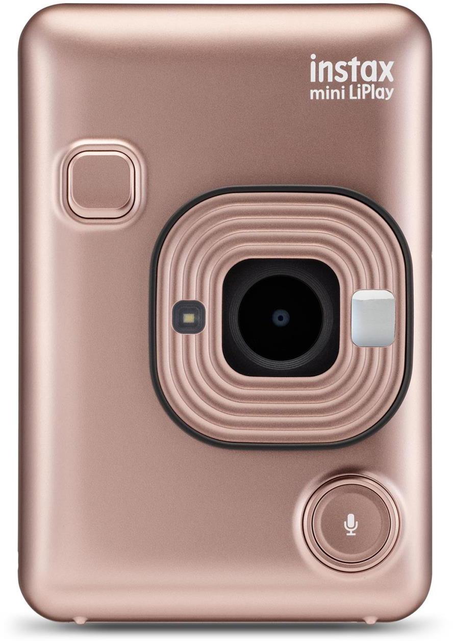 Fujifilm Instax Mini LiPlay, zeltīti rozā 4547410413267 4547410413267 Digitālā kamera