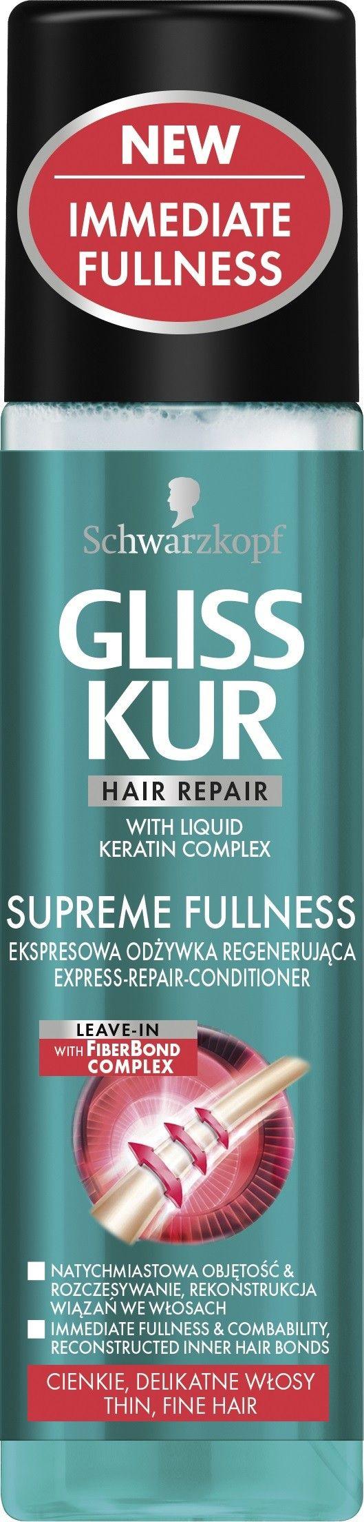 Schwarzkopf Gliss Kur H*GLISS K.Supreme Fullness ERC 200ml - 68075649