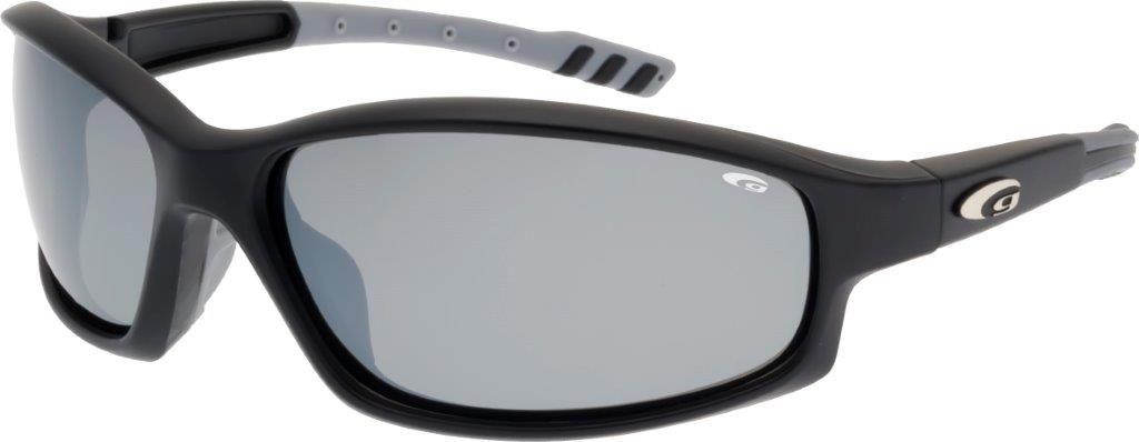 Polarized black sunglasses (E128-5P)