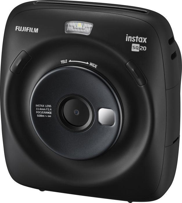 Aparat cyfrowy Fujifilm Instax Square 20 czarny (16603206) 16603206 Digitālā kamera