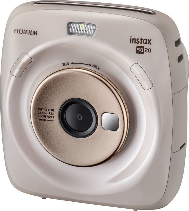 Aparat cyfrowy Fujifilm Instax Square 20 bezowy 16603218 Digitālā kamera