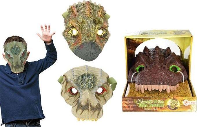 ToiToys 37605 Dinosaur mask (three different variants sent at random)
