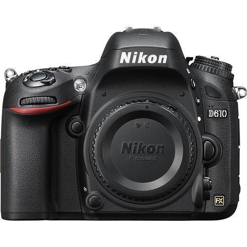 Nikon D610 body black D610 Spoguļkamera SLR