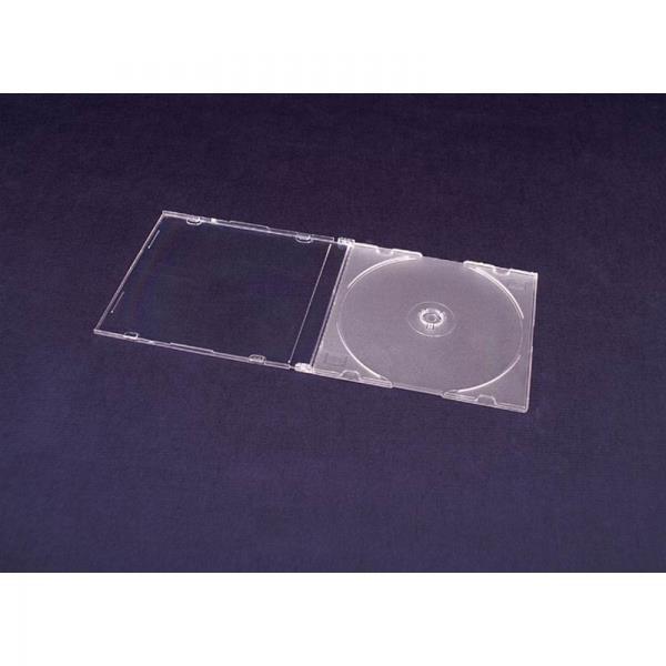 ESPERANZA Box with Matt Clear Tray for 1 CD/DVD ( 200 Pcs. PACK) matricas