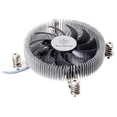 Silverstone Nitrogon SST-NT07-115X Low Profile CPU-Cooler procesora dzesētājs, ventilators