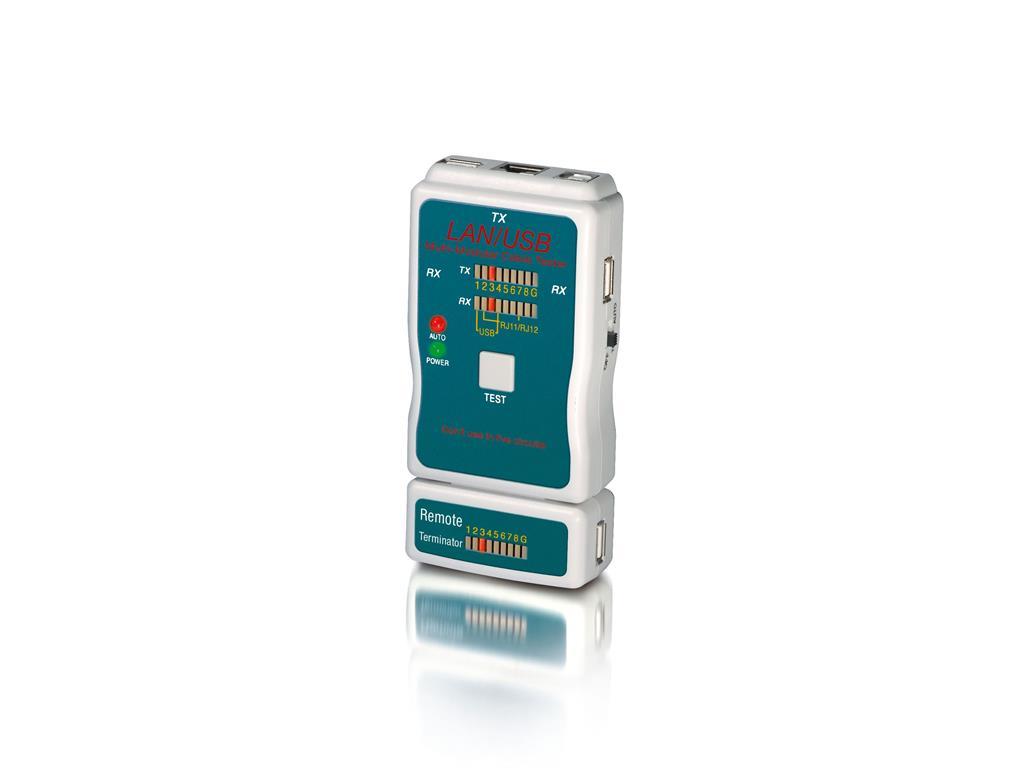 Equip LAN tester for Network/modular kabelis, vads