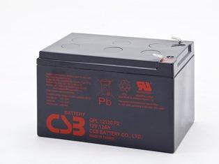 CSB battery GPL12120 12V/12Ah 8yr battery UPS aksesuāri