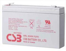 CSB rechargeable battery HRL634W 6V/9Ah 34W UPS aksesuāri